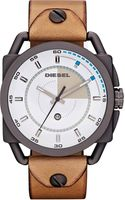 Diesel Leather Watch White - Lyst
