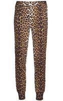 3.1 Phillip Lim Leopard Track Pant - Lyst