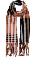 Topshop Over Size Blanket Scarf - Lyst
