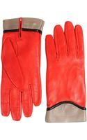 Jil Sander Navy Gloves - Lyst