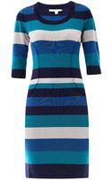 Jonathan Simkhai Stripe Knit Bodycon Dress - Lyst