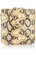 Valentino Studded Python Shoulder Bag - Lyst