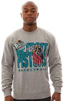 Mitchell & Ness The Detroit Pistons Crewneck Sweatshirt - Lyst