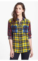 Equipment Signature Plaid Silk Shirt - Lyst