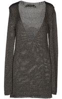 Patrizia Pepe Long Sleeve Sweater - Lyst