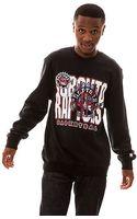 Mitchell & Ness The Toronto Raptors Crewneck Sweatshirt - Lyst