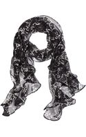 Brooks Brothers Ruffled Oblong - Lyst
