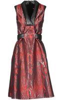 Christopher Kane 34 Length Dress - Lyst