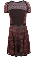 M Missoni Crochet Panel Dress - Lyst