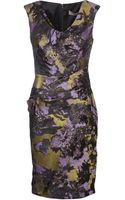 Lela Rose Brocade Sheath Dress - Lyst