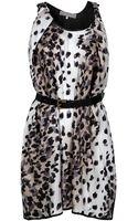 Preen By Thorton Bregazzi Coil Leopard Printed Dress - Lyst