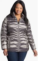 Bernardo Iridescent Packable Goose Down Jacket - Lyst
