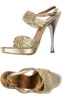 Donna Karan New York Sandals - Lyst