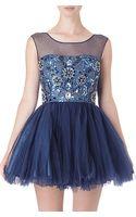 Forever Unique Bonnie Dress - Lyst
