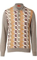 Missoni Wool Patterned Pullover - Lyst
