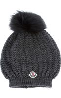 Moncler Knitted Hat - Lyst