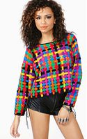 Nasty Gal Rainbow Dip Knit - Lyst