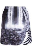 Mary Katrantzou Waterfall Mini Skirt - Lyst