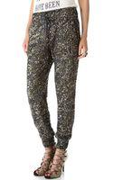 Haute Hippie Sequin Pants - Lyst