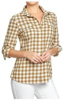 Old Navy Plaid Shirts - Lyst