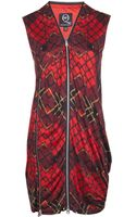 McQ by Alexander McQueen Tartan Shirt Dress - Lyst