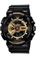 G-shock Mens Analog Digital Black Resin Strap Ga110gb1a - Lyst