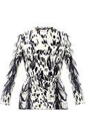 Giambattista Valli Couture Dalmatian Spot Silk Peplum Jacket - Lyst