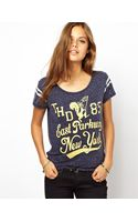 Lazy Oaf Hilfiger Denim New York Tshirt - Lyst