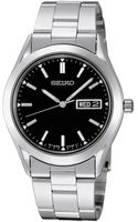 Seiko Mens Stainless Steel Bracelet Watch - Lyst