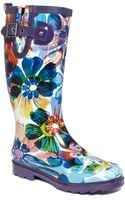 Chooka Flora Glass Rain Boots - Lyst