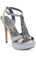 Jessica Simpson Bennies Platform Evening Sandals - Lyst