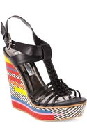 Naughty Monkey Pippa Platform Wedge Sandals - Lyst