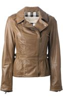Burberry Brit Biker Jacket - Lyst