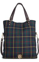 Tommy Hilfiger Back To Cool Fold Over Tote - Lyst