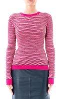 Jonathan Saunders Deborah Ovalknit Sweater - Lyst