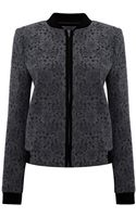 Pied A Terre Lace Bomber Jacket - Lyst