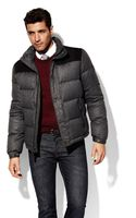 Vince Camuto Flannel Down Jacket - Lyst