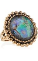 Stephen Dweck Abalonerock Crystal Ring - Lyst