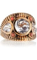Stephen Dweck Coral Wide Engraved Band  - Lyst
