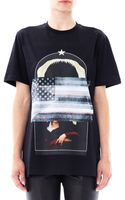 Givenchy Old Print T-shirt - Lyst