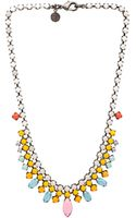 Tom Binns Shadow Play Necklace - Lyst
