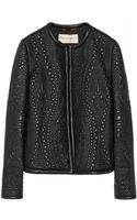 Emilio Pucci Quilted Leather Jacket - Lyst