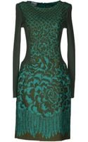 Philosophy di Alberta Ferretti Kneelength Dress - Lyst