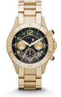 Marc By Marc Jacobs Gold Tone Stainless Steel Chronograph Watch - Lyst