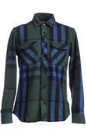 Burberry Brit Shirts - Lyst