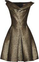 Vivienne Westwood Anglomania Halton Draped Metallic Jacquard Dress - Lyst