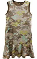 Cynthia Rowley Flounce Dress - Lyst