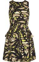 McQ by Alexander McQueen Printed Cotton Blend Twill Dress - Lyst