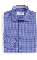 Robert Graham Omega Houndstooth Dress Shirt - Lyst