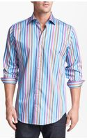 Peter Millar Regular Fit Sport Shirt - Lyst